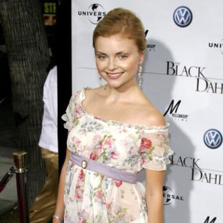 Izabella Miko in The Black Dahlia Los Angeles Premiere