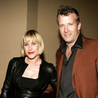 Patricia Arquette, Thomas Jane in The Tripper Los Angeles Premiere