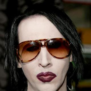 Marilyn Manson in The Nightmare Before Christmas 3D World Premiere
