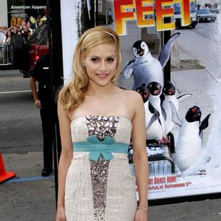 Brittany Murphy in Happy Feet World Premiere