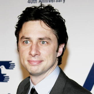 Zach Braff in Los Angeles Free Clinic Annual Dinner Gala