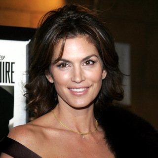 Cindy Crawford in The Good German Hollywood Premiere