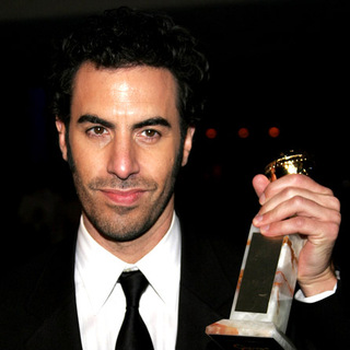 Sacha Baron Cohen in Paramount Pictures 2007 Golden Globe Award After-Party