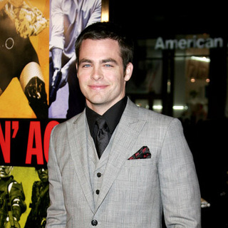 Chris Pine in Smokin' Aces World Premiere