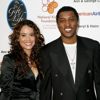 Babyface, Nikki Pantenburg in National Kidney Foundation of Southern California's 28th Annual Gift of Life Celebration