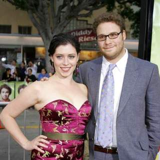 Seth Rogen in Knocked Up Los Angeles Premiere