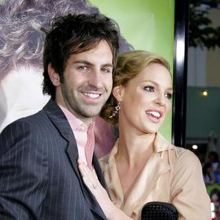 Katherine Heigl, Josh Kelley in Knocked Up Los Angeles Premiere
