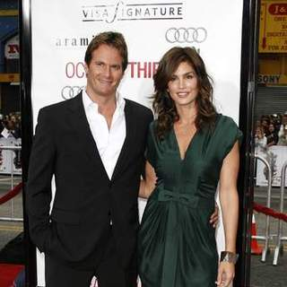 Cindy Crawford, Rande Gerber in Ocean's 13 Los Angeles Premiere