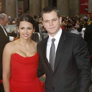 Matt Damon in Ocean's 13 Los Angeles Premiere