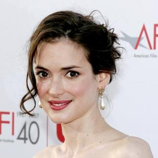 Winona Ryder in 35th Annual AFI Life Achievement Award Honoring Al Pacino