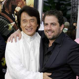 Jackie Chan, Brett Ratner in Rush Hour 3 Los Angeles Premiere