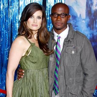 "Idina Menzel, Taye Diggs in ""Enchanted"" World Premiere - Arrivals"