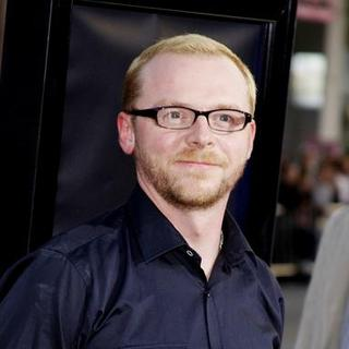 "Simon Pegg in ""Iron Man"" Los Angeles Premiere - Arrivals"
