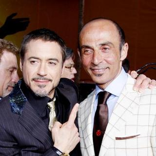 "Robert Downey Jr., Shaun Toub in ""Iron Man"" Los Angeles Premiere - Arrivals"