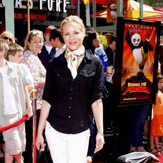 "Maria Bello in ""Kung Fu Panda"" Los Angeles Premiere - Arrivals"