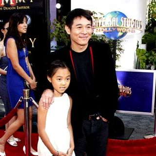 "Jet Li in ""The Mummy: Tomb of the Dragon Emperor"" American Premiere - Arrivals - DGG-019541"