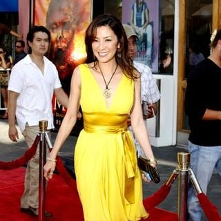 "Michelle Yeoh in ""The Mummy: Tomb of the Dragon Emperor"" American Premiere - Arrivals - DGG-019543"