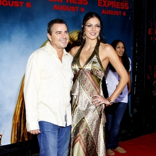 "Adrianne Curry, Christopher Knight in ""Pineapple Express"" Los Angeles Premiere - Arrivals"