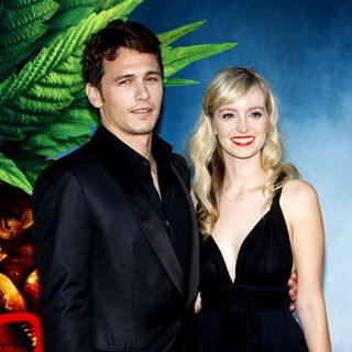 "James Franco, Ahna O'Reilly in ""Pineapple Express"" Los Angeles Premiere - Arrivals"