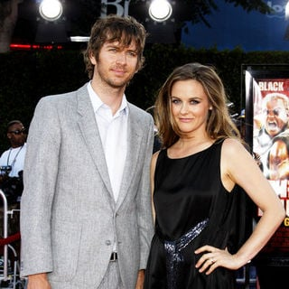 Christopher Jarecki, Alicia Silverstone in Tropic Thunder Los Angeles Premiere - Arrivals