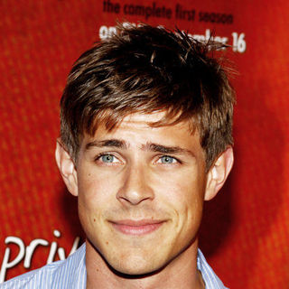 "Chris Lowell in ""Private Practice"" Season One DVD Launch - Arrivals"