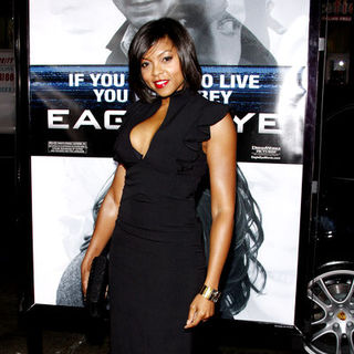 "Taraji P. Henson in ""Eagle Eye"" Los Angeles Premiere - Arrivals"