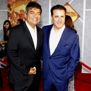 "Andy Garcia, George Lopez in ""Beverly Hills Chihuahua"" World Premiere - Arrivals"