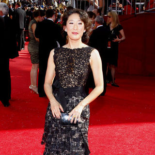 Sandra Oh in 60th Primetime EMMY Awards - Arrivals
