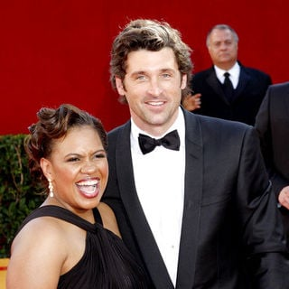 Chandra Wilson, Patrick Dempsey in 60th Primetime EMMY Awards - Arrivals