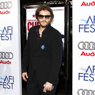 "Joaquin Phoenix in 2008 AFI FEST Los Angeles Premiere of ""Che"" - Arrivals"