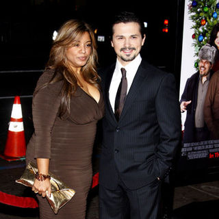 "Freddy Rodriguez, Elsie Rodriguez in ""Nothing Like The Holidays"" Los Angeles Premiere - Arrivals"