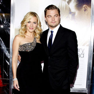 "Kate Winslet, Leonardo DiCaprio in ""Revolutionary Road"" World Premiere - Arrivals"