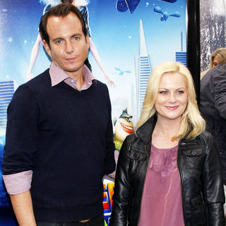 "Will Arnett, Amy Poehler in ""Monsters vs. Aliens"" Los Angeles Premiere - Arrivals"