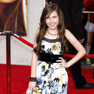 "Ryan Newman in ""Hanna Montana: The Movie"" World Premiere - Arrivals"