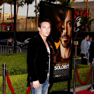 "Jonathan Rhys-Meyers in ""The Soloist"" Los Angeles Premiere - Arrivals"