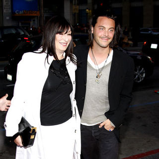 "Anjelica Huston, Jack Huston in ""X-Men Origins: Wolverine"" Los Angeles Premiere - Arrivals"