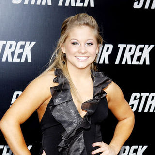 "Shawn Johnson in ""Star Trek"" Los Angeles Premiere - Arrivals"