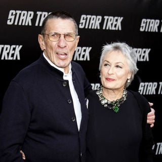 "Leonard Nimoy, Susan Bay in ""Star Trek"" Los Angeles Premiere - Arrivals"
