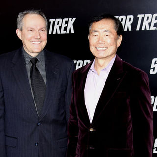 "George Takei, Brad Altman in ""Star Trek"" Los Angeles Premiere - Arrivals"