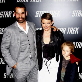 "Adrian Pasdar, Natalie Maines in ""Star Trek"" Los Angeles Premiere - Arrivals"