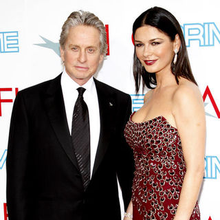 Catherine Zeta-Jones, Michael Douglas in 37th Annual AFI Lifetime Achievement Awards - Arrivals