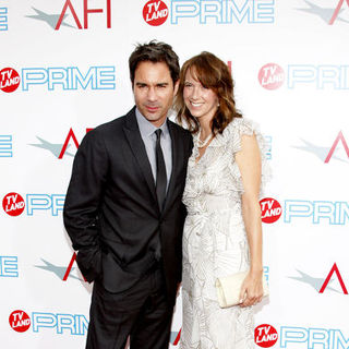 Eric McCormack, Janet Holden in 37th Annual AFI Lifetime Achievement Awards - Arrivals