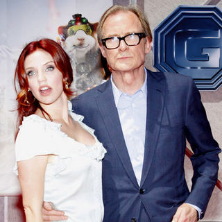 "Bill Nighy, Kelli Garner in ""G-Force"" World Premiere - Arrivals"