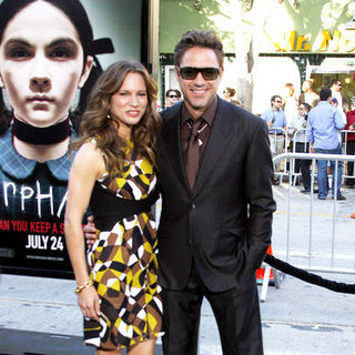 "Robert Downey Jr., Susan Levin in ""Orphan"" Los Angeles Premiere - Arrivals"