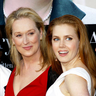 "Meryl Streep, Amy Adams in ""Julie & Julia"" - Los Angeles Premiere - Arrivals"