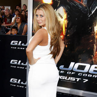 "Aubrey O'Day in ""G.I. Joe: Rise of Cobra"" Los Angeles Premiere - Arrivals"