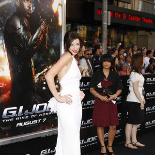 "Rachel Nichols in ""G.I. Joe: Rise of Cobra"" Los Angeles Premiere - Arrivals"