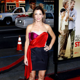 "Sandra Bullock in ""All About Steve"" World Premiere - Arrivals"