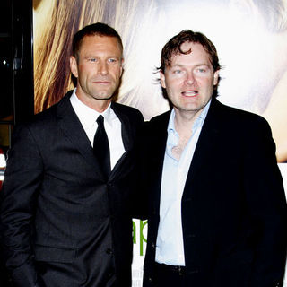 "Aaron Eckhart, Brandon Camp in ""Love Happens"" World Premiere - Arrivals"
