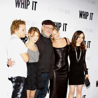 "Drew Barrymore, Steven Spielberg, Ellen Page in ""Whip It!"" Los Angeles Premiere - Arrivals"